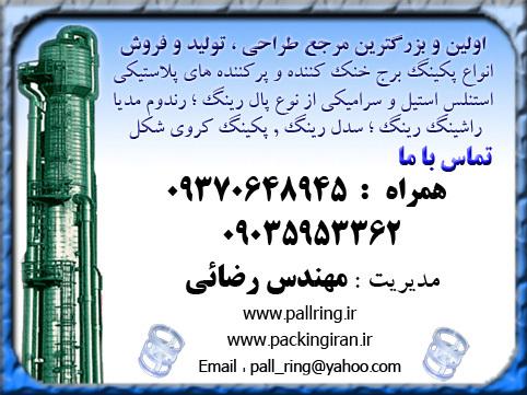 تماس جهت خرید و مشاوره پکینگ با مهندس رضایی