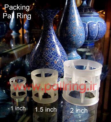 انواع پکینگ پالرینگ پلاستیکی 1 اینچ - 1.5 اینچ و 2 اینچ